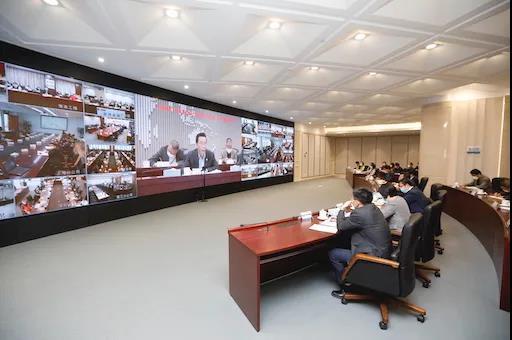 """中国海油""""坚决打好应对低油价挑战攻坚战""""工作部署视频会议召开,汪东进出席并提出要求-《国资报告》杂志"""