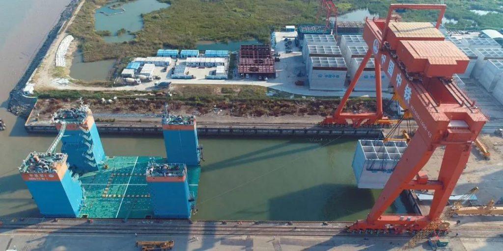 近洋码头项目29件沉箱出驳圆满完成-《国资报告》杂志