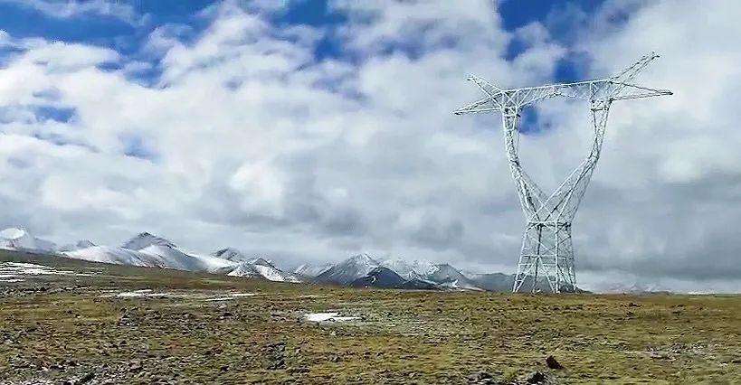 海拔5357米!电力铁塔矗立世界屋脊-《国资报告》杂志