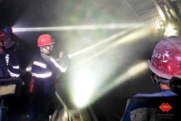 国家能源集团研发的喷浆材料成功完成矿下应用试验-《国资报告》杂志